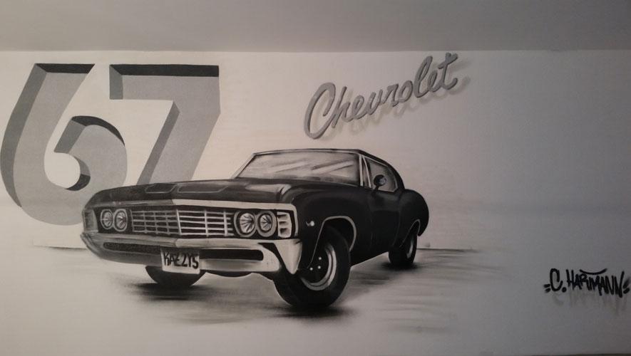 Chevrolet Garagenwand