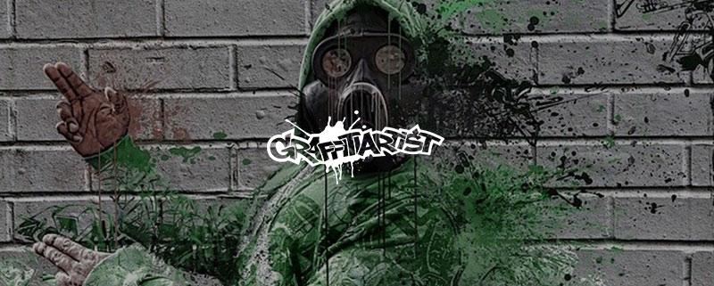 Graffitiartist Lacke Atemschutz